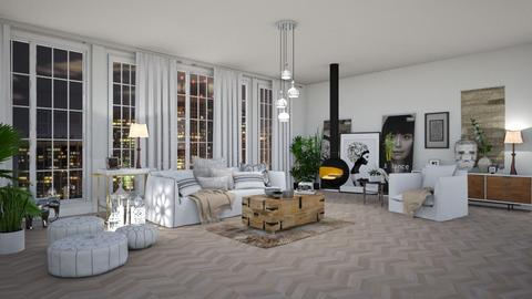 Haring Oak - Modern - Living room - by janip
