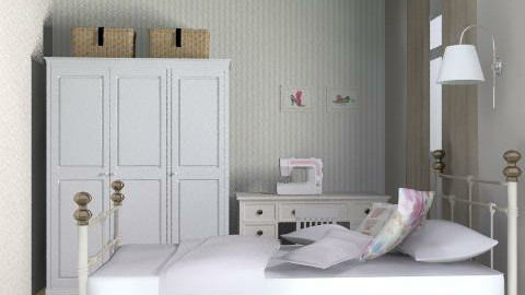 tfbedroomlayouts3 - Country - Bedroom - by inglenook