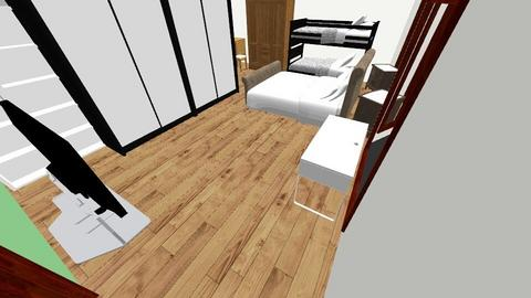 Master Room Current - Bedroom - by muchachos02