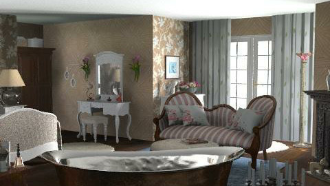 In Gramma's Day - Country - Bedroom - by Open Spaces