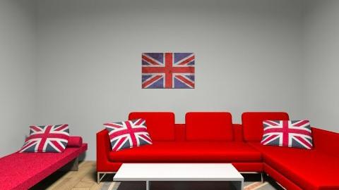 Union Jack Living Room - Living room - by Georgia Lee