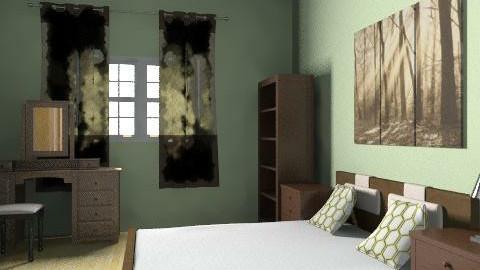Adult bedroom - Country - Bedroom - by AmyMcGrane