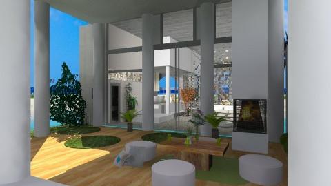 Weekend house - Modern - Garden - by MonikaART