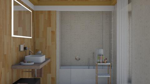 Bathroom - by gabyurbina