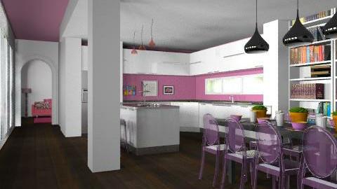 Transparent Socialite - Modern - Kitchen - by Carliam