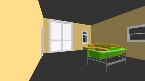 First loor - Living room - by sumandas_007
