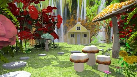 Wonderland - Feminine - Garden - by deleted_1566988695_Saharasaraharas