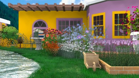 Houses and Gardens - Country - Garden - by Your well wisher