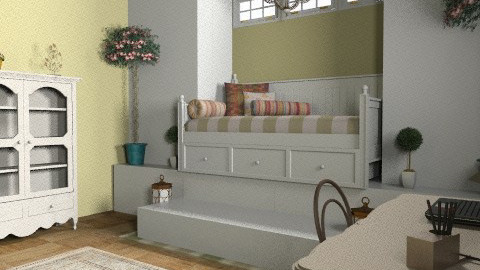 Bedroom - Country - Bedroom - by smw0196