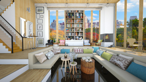 Parkside Living - Eclectic - Living room - by Laurika