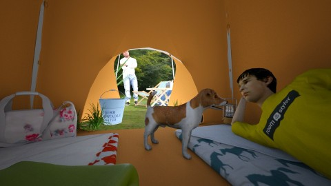 camping - Country - Garden - by donella