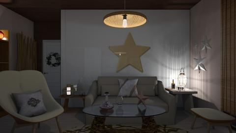 Simple stars - Modern - Living room - by augustmoon