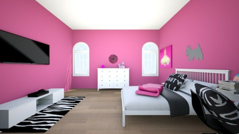TWEEN PINK - Bedroom - by keelinmargrertobrien