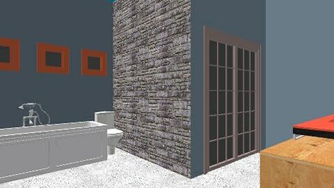 isaac  - Rustic - Bathroom - by lilyashendorf
