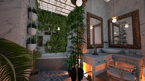 UJ Bathroom - Glamour - Bathroom - by hello hi hello