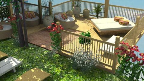 My  Brasil - Garden - by nanabpf