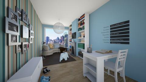 Family Space - Living room - by Brigid123
