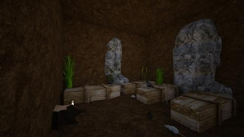 The followers tombed - Masculine - Living room - by Wayfarer of Rither Fall