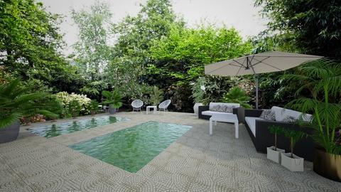 outdoor garden - Garden - by lealaurenbagari