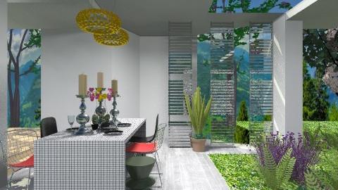 Outdoor Dining Space - Modern - Garden - by 3rdfloor
