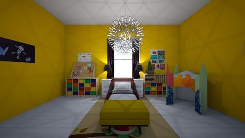 Eckos room - Bedroom - by WaughCat