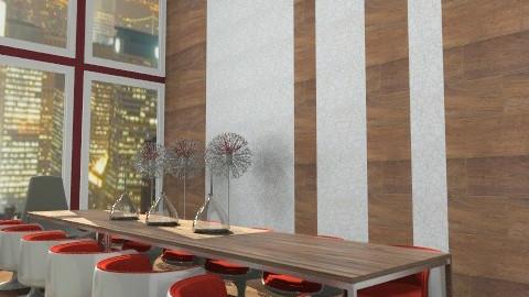 cool room - Modern - Dining room - by austinajk