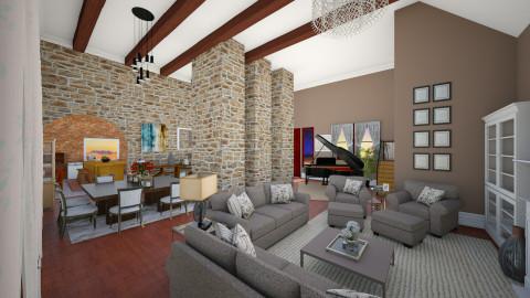 Fazenda - Living room - by honeylynAmbos