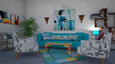Zeus2 - Modern - Living room - by Illuminaughty