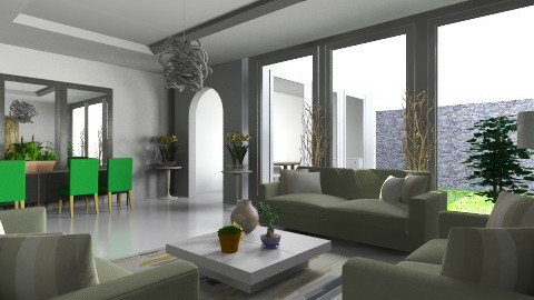 greenpart - Living room - by apriljoyeby