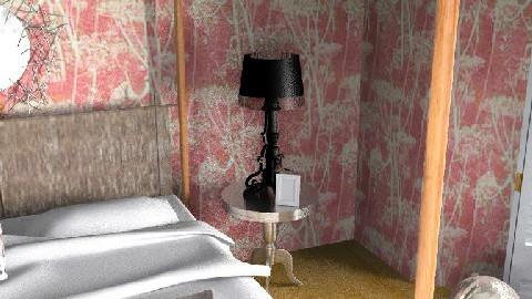 Eclectic Pink 4 - Eclectic - Bedroom - by DearDesigner