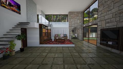 Casa de Pedra - Glamour - Living room - by Mariesse Paim