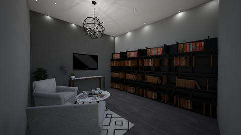 ModernHomeLibraryFamily  - Modern - Office - by jade1111