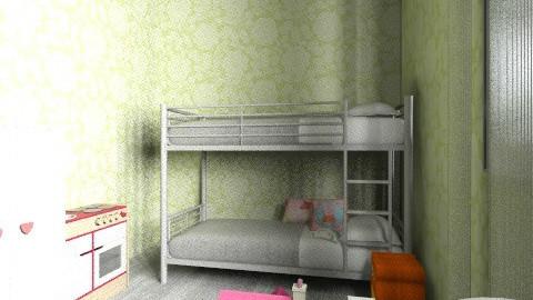 Chambre de Sophie - Feminine - Kids room - by heosua