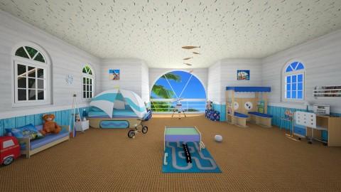 summerhouse - Modern - Kids room - by carina68
