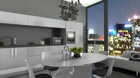 nightdine - Modern - Kitchen - by jackiefruit