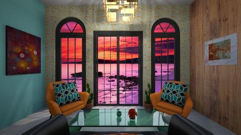 Room Inspired by Color - Living room - by Madisyn J
