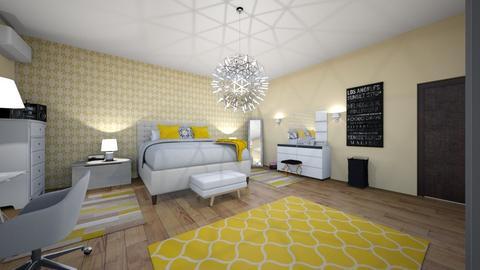 libya room  - Bedroom - by ragedM09