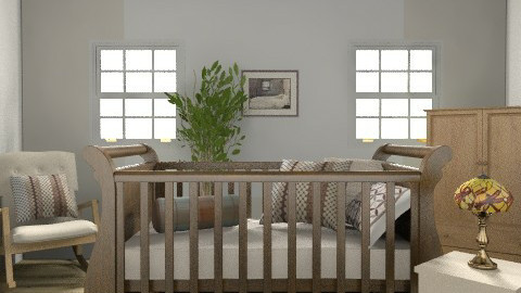 Unisex Baby Rustic Nursery - Rustic - Bedroom - by coco_pps