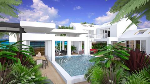 beach house - by Connie Davis