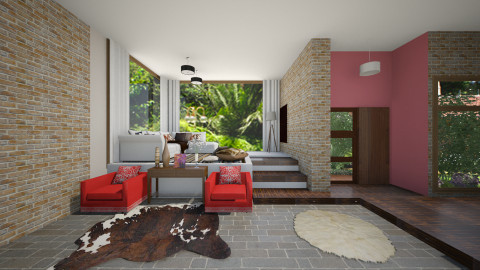 house big - Modern - Living room - by Joseph Espinoza