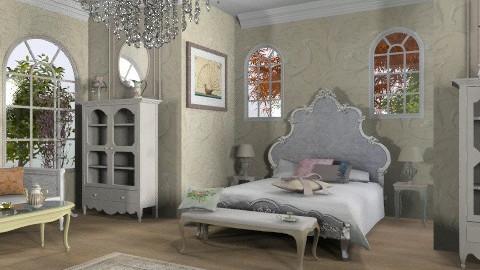Vive la France - Classic - Bedroom - by auntiehelen