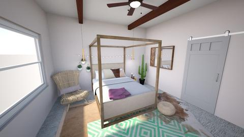 Southwest Bedroom - Eclectic - Bedroom - by George Street Interiors