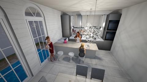 modern kitchen - Kitchen - by DesignerDol