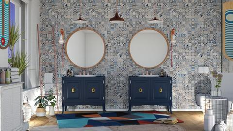 Eclectic Bathroom - Eclectic - Bathroom - by NEVERQUITDESIGNIT