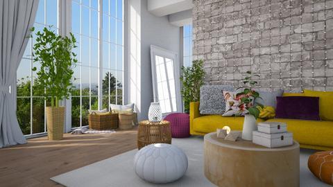 Boho - Living room - by MiaM