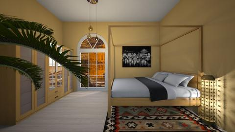 Arabic patterns - Classic - Bedroom - by Twerka