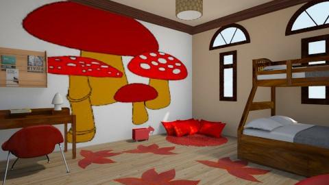 baby mushroom - Kids room - by rasty