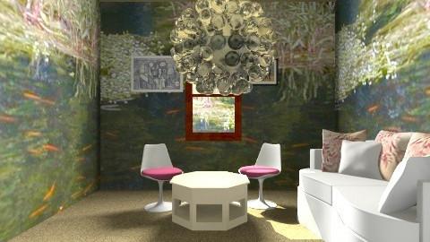 Sarah Rooms - Retro - Garden - by Sarah Bussing