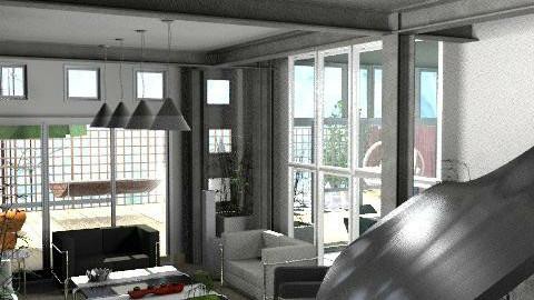 piano le corbusier - Retro - by calu13