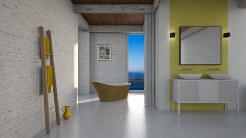Yellow Bathroom - Modern - Bathroom - by tolo13lolo